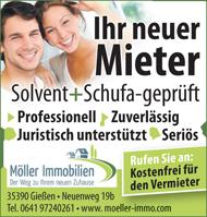 Möller Immobilien - Anzeige